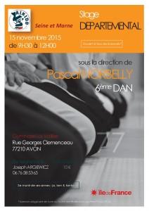 15.11.2015 | Stage dirigé par Pascal Norbelly