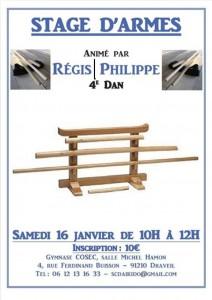 16.01.2016 | Stage dirigé par Régis Philippe