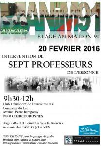 20.02.2016 | Stage dirigé par les Professeurs de l'Essonne