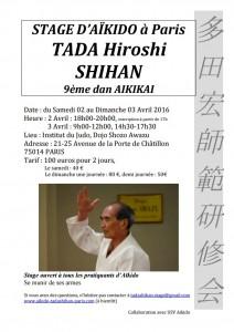 03.04.2016 | Stage dirigé par Hiroshi Tada