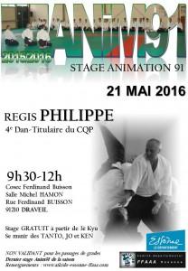 21.05.2016 |Stage dirigé par Regis Philippe