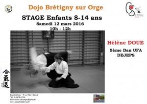 12.03.2016 | Stage dirigé par Hélène Doué