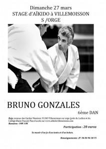 27.03.2016   Stage dirigé par Bruno Gonzales