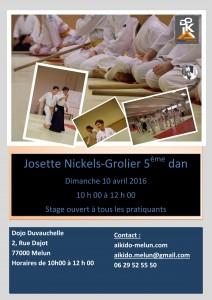 10.04.2016 | Stage dirigé par Josette Nickels