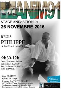 26.11.2016 | Stage dirigé oar Regis Philippe