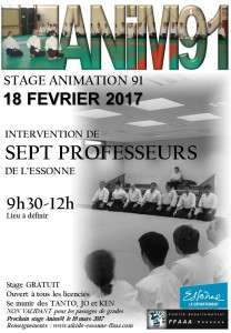 18.02.2017   Stage dirigé par les 7 professeurs de l'Essonne