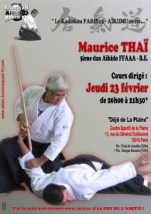 23.02.2017 | Stage dirigé par Maurice Thai