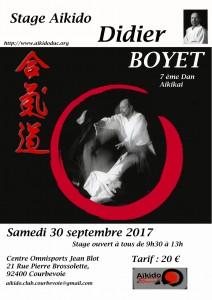 30.09.2017 | Stage dirigé par Didier Boyet