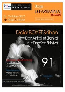01.10.2017 | Stage dirigé par Didier Boyet