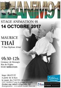 14.10.2017 | Stage dirigé par Maurice Thai