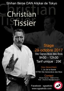 29.10.2017 | Stage dirigé par Christian Tissier
