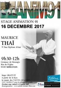 16.12.2017 | Stage dirigé par Maurice Thai