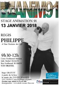 13.01.2018 | Stage dirigé par Régis Philippe