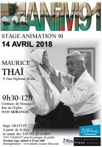 14.04.2018 | Stage dirigé par Maurice Thai