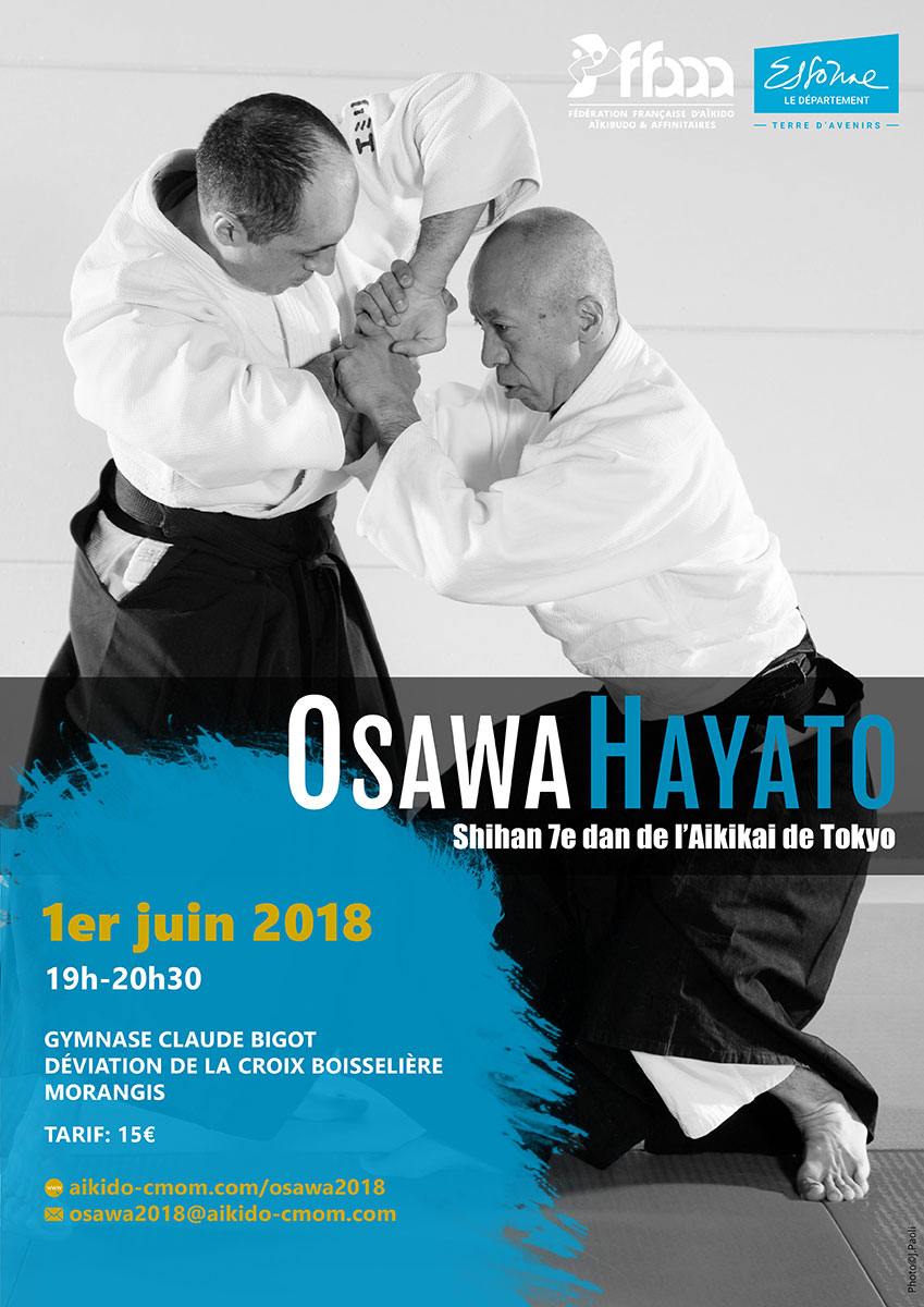 01.06.2018 | 2018 International seminar with Osawa Shihan in Morangis
