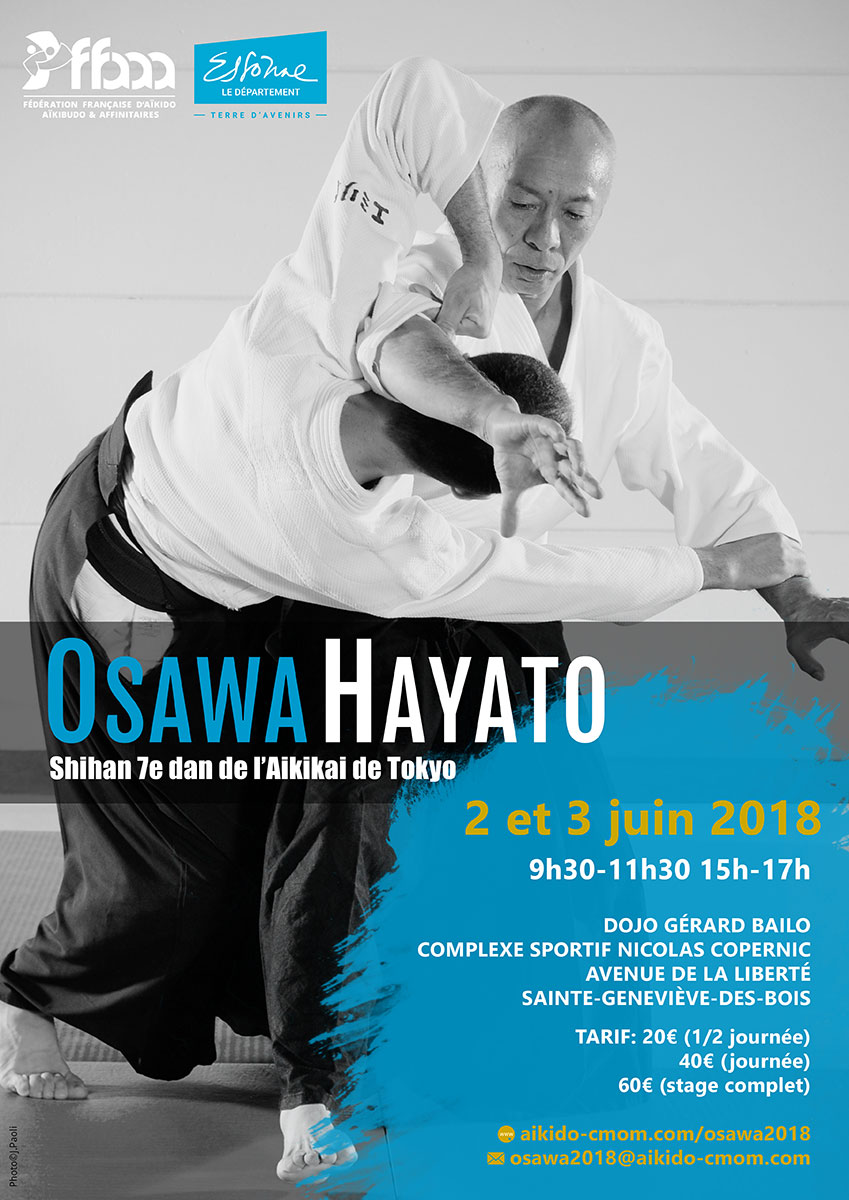 02.06.2018-03.06.2018 | 2018 International seminar with Osawa Shihan in Sainte-Geneviève-des-Bois