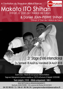 18.08.2018 | Stage dirigé par Makoto Ito