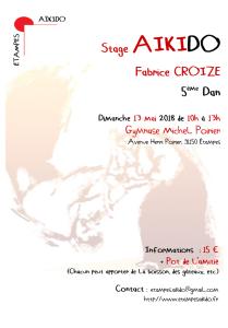 13.05.2018 | Stage dirigé par Fabrice Croizé