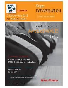 02.12.2018 | Stage dirigé par Arnaud Waltz