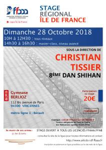 28.10.2018 | Stage dirigé par Christian Tisser