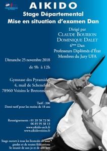 25.11.2018 | Stage dirigé par Claude Bourion et Dominique Dalet
