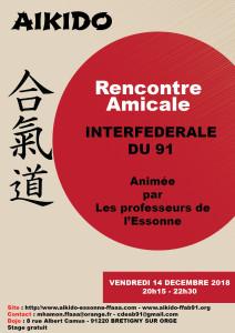 14.12.2018 - Stage dirigé par les professeurs de l'Essonne