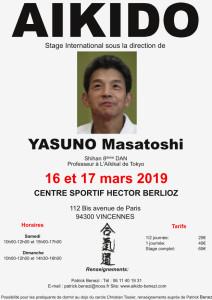 16.03.2019 | Stage dirigé par Masatoshi Yasuno