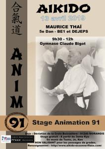 13.04.2019 | Stage dirigé par Maurice Thai