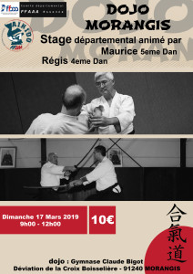17.03.2019 | Stage dirigé par Maurice Thai et Régis Philippe