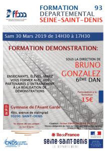 30.03.2019 | Stage dirigé par Bruno Gonzalez