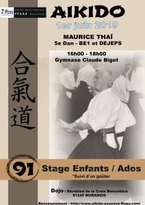 01.06.2019 | Stage dirigé par Maurice Thai