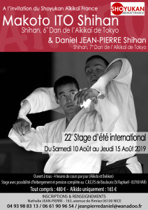10.08.2019 | Stage dirigé par Makoto Ito