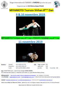 09.11.2019 | Stage dirigé par Miyamoto et Tissier
