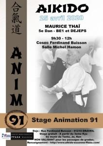 25.04.2020   Stage dirigé par Maurice Thai