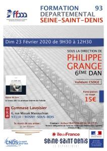 23.02.2020 | Stage dirigé par Phillippe Grange