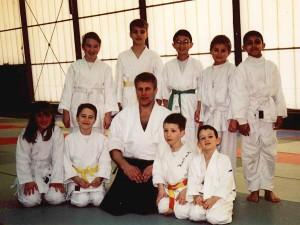 02.03.2003 | Arnaud Waltz et les petits aikidokas du CMOM