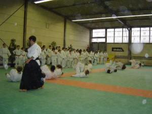 06.12.2003 | Echauffement - roulades arrières (ushiro ukemi)