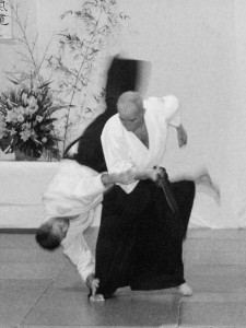 29.01.2005 | Michel Hamon démontrant Koshi nage