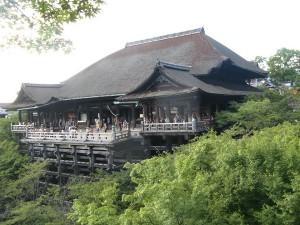 12.09.2012 | Kiyomizudera, grand Temple sur pilotis.