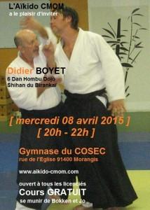08.04.2015 | Stage dirigé par Didier Boyet