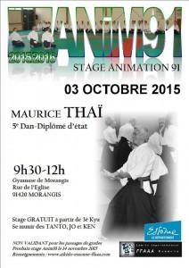 03.10.2015 | Stage dirigé par Maurice Thai